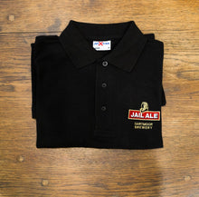 Jail Ale Polo Shirt - Black