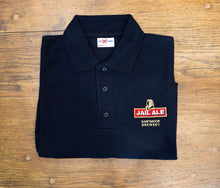 Jail Ale Polo Shirt - Navy
