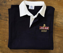 Jail Ale Rugby Shirt - Navy