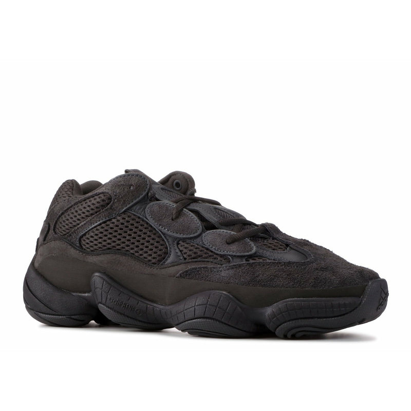 "Adidas-Yeezy 500 ""Utility Black""-Adidas Yeezy 500 ""Utility Black"" Sneakers