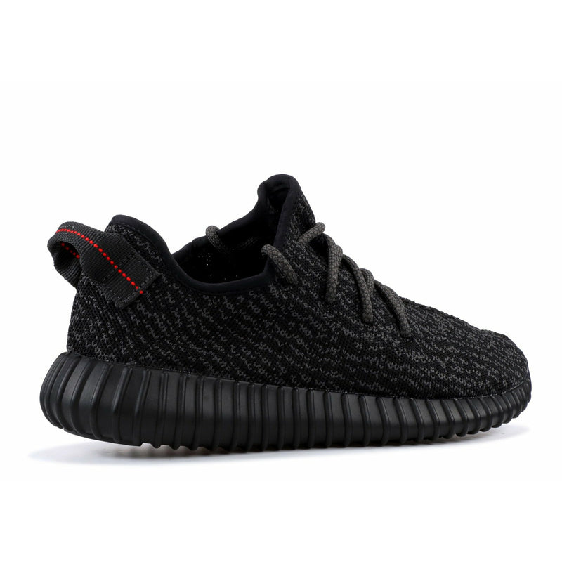 "Adidas-Yeezy Boost 350 ""Pirate Black"" (2015)-Adidas Yeezy Boost 350 ""Pirate Black"" Sneakers