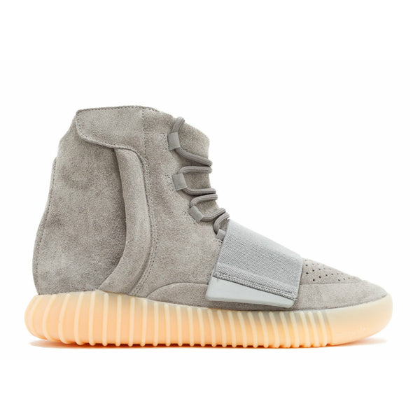 "Adidas-Yeezy Boost 750 ""Grey Gum""-Yeezy Boost 750 ""Grey Gum"" Sneakers