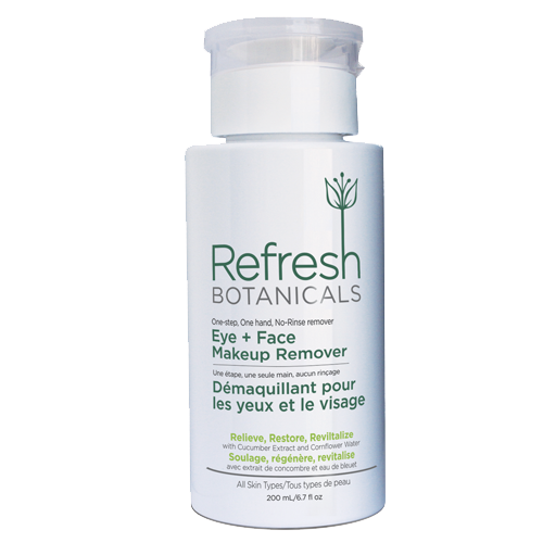 Refresh Botanicals Eye & Face Makeup Remover 200ml
