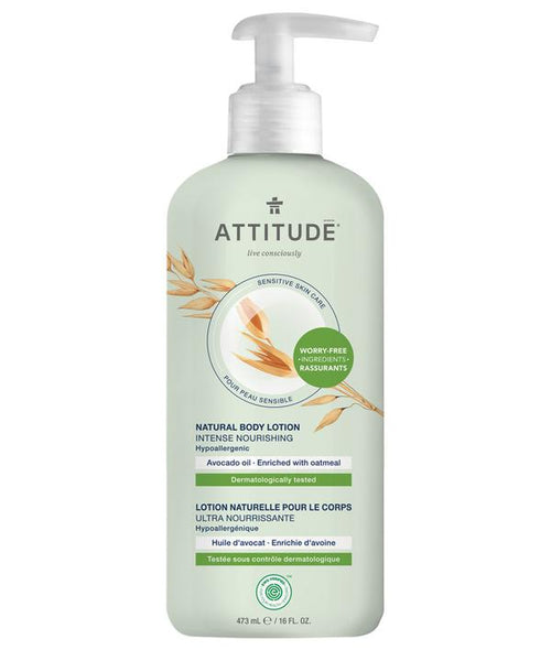 ATTITUDE - Natural Body Lotion AVOCADO OIL