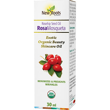 New Roots Herbal Rosa Mosqueta Seed Oil (Rosehip)