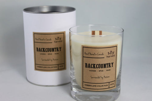 Soy Harvest - Timberflame Candle - Backcountry