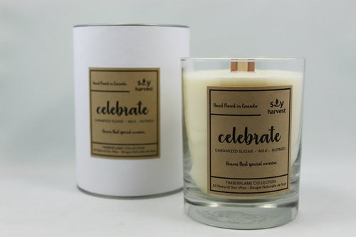 Soy Harvest - Timberflame Candle - Celebrate