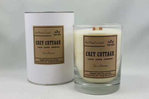 Soy Harvest - Timberflame Candle - Cozy Cottage