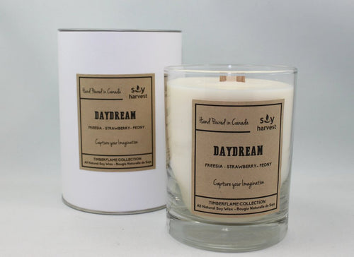 Soy Harvest - Timberflame Candle - Daydream
