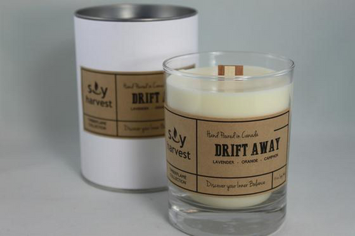 Soy Harvest - Timberflame Candle - Drift Away