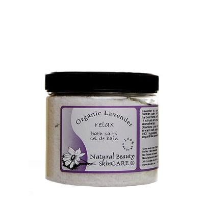 Natural Beauty Skincare - Lavender Bath Salts 500g