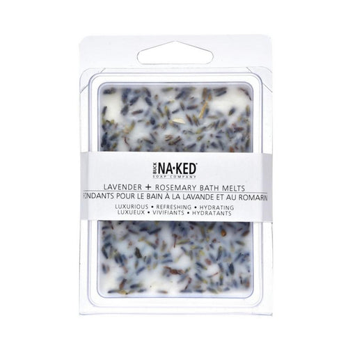 BUCK NA·KED-Lavender + Rosemary Bath Melts