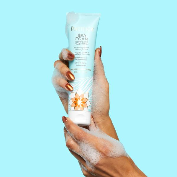 Pacifica - Sea Foam Complete Face Wash