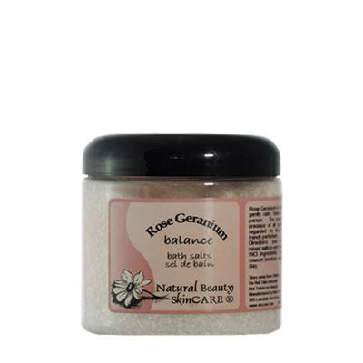 Natural Beauty Skincare - Rose Geranium Bath Salts 500g