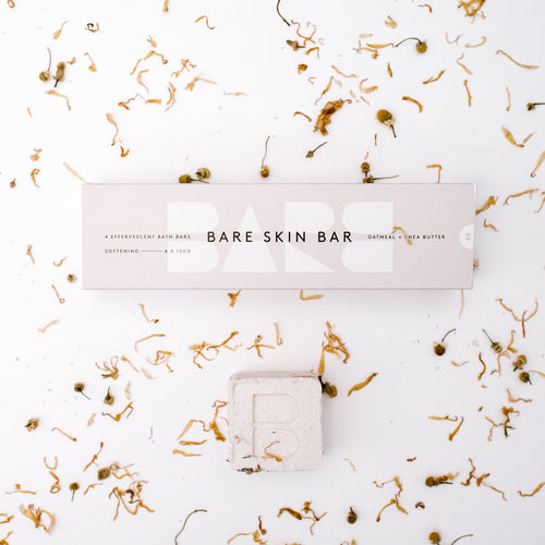 BARE SKIN BAR - SOFTENING PACK  4 x 100g Bars