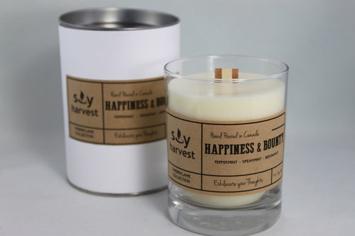 Soy Harvest - Timberflame Candle - Happiness & Bounty