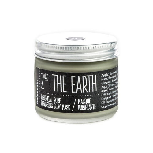 Belmondo-The Earth Cleansing French Clay Face Mask 2 oz.