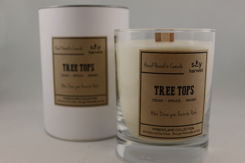 Soy Harvest - Timberflame Candle - Tree Tops