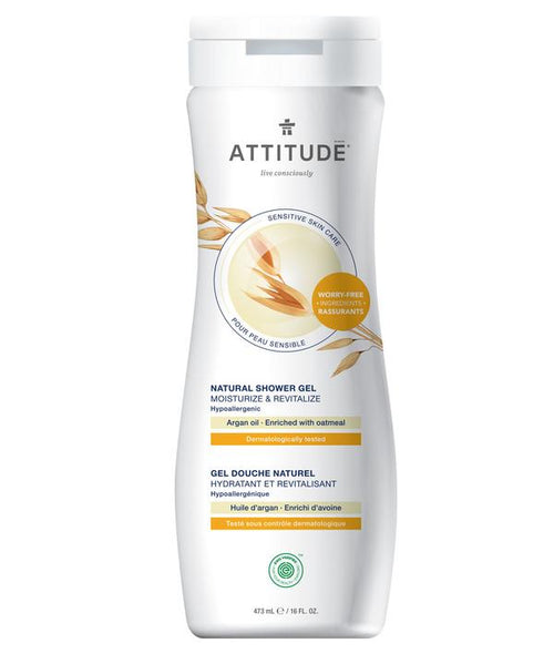 ATTITUDE - Natural Shower Gel - ARGAN OIL