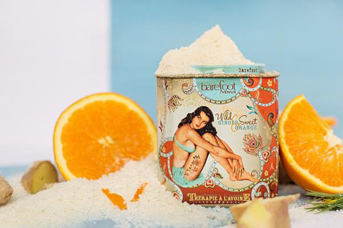 Barefoot Venus Wild Ginger & Sweet Orange Oat Therapy Bath