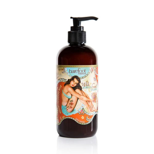 Barefoot Venus Wild Ginger & Sweet Orange Creamy Cleansing Wash