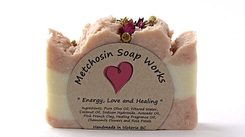 Metchosin Soap Works Energy, Love, and Healing Soap