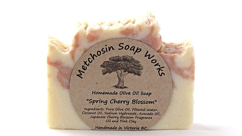 Metchosin Soap Works Spring Cherry Blossom Soap