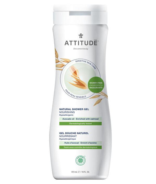 ATTITUDE - Natural Shower Gel - AVOCADO OIL