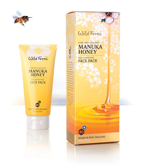 Wild Ferns Manuka Honey Rejuvenating Face Pack