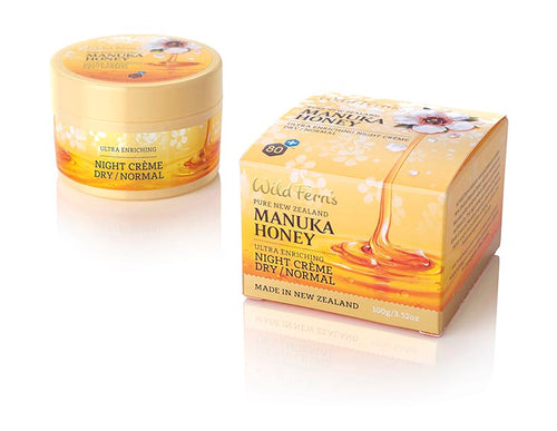 Wild Ferns Manuka Honey Ultra Enriching Night Creme