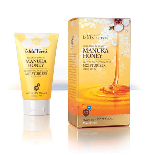 Wild Ferns Manuka Honey Protective Hydrating Moisturizer with SPF 30