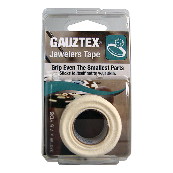 Gauztex Self-Adhering Grip & Safety Tape – Jewelers Tape