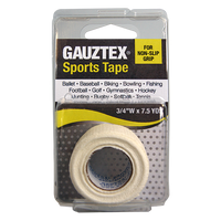 Gauztex Self-Adhering Grip and Protective Tape – All Sports Tape (1pk, 3pk, 10pk)