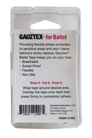 Gauztex Self-Adhering Grip and Protective Tape – Ballet Tape (1pk, 3pk, 10pk)