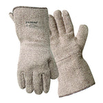 Extra Heavyweight Brown Terrycloth Gloves