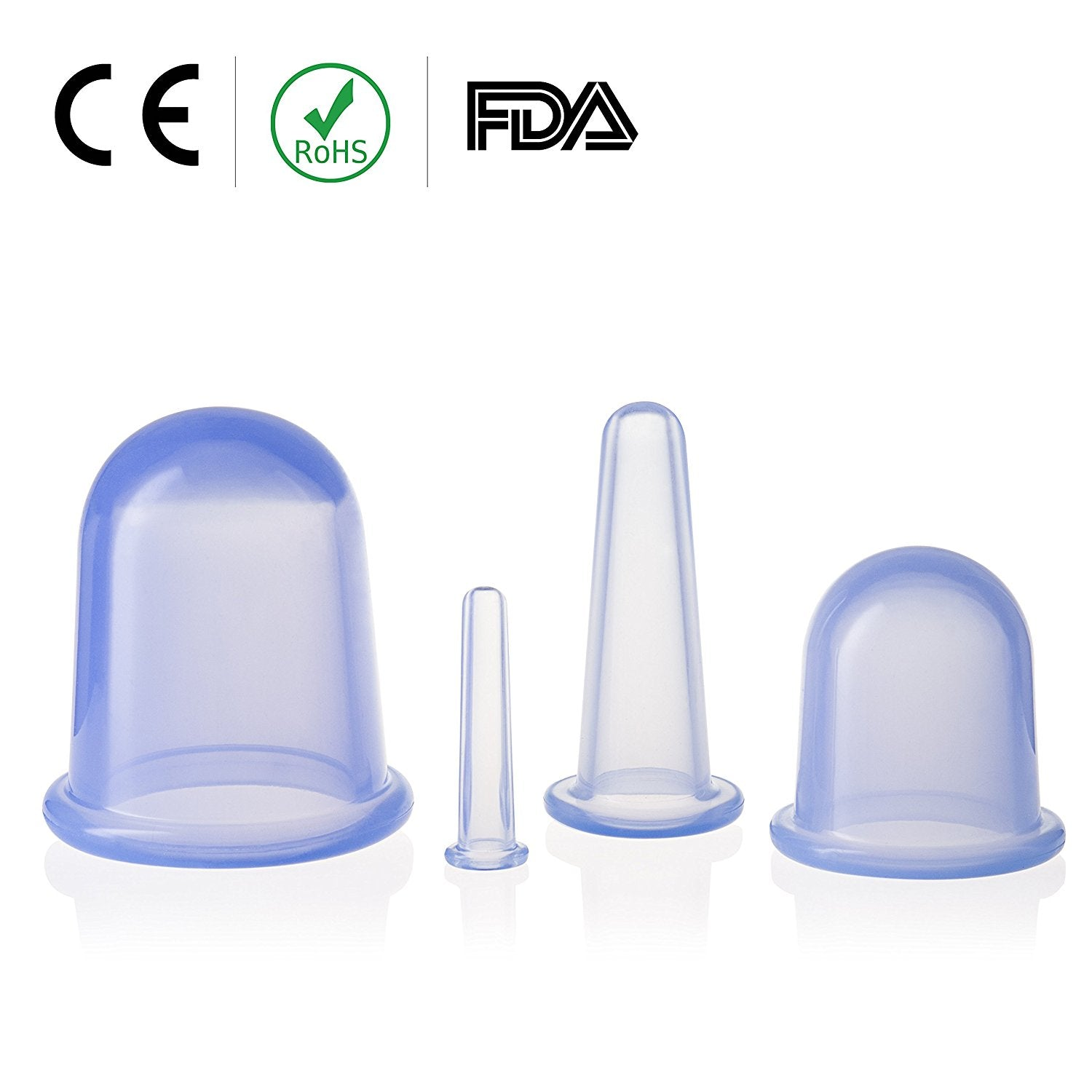 Silicone Cupping Therapy Set for Body and Face