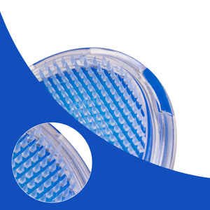 Body Exfoliating Brush for Legs, Bikini Line - Ideal for Ingrown Hair Treatment adn Razor Bumps