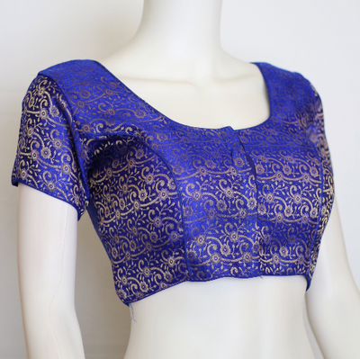 Readymade designer brocade silk blouse