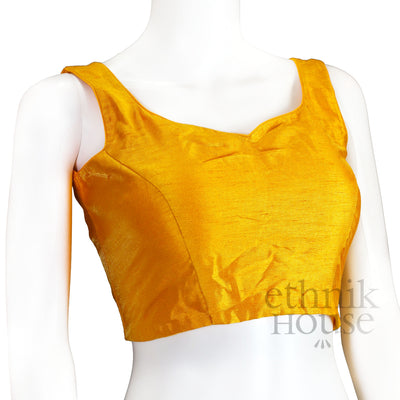 Readymade sleeveless blouse with tie back