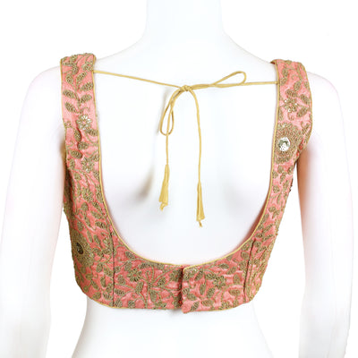 Designer sleeveless blouse