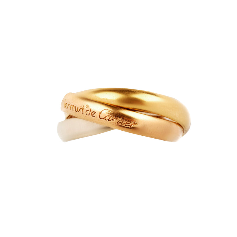 A Trinity Ring by Cartier