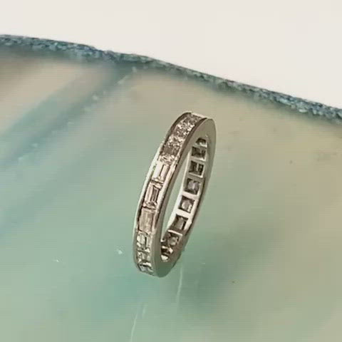 A Baguette Diamond Eternity ring