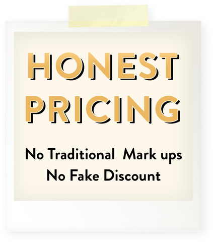 Anygolds feature honest pricing