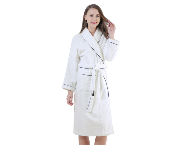 1fcac58ed7 Women s Terry Cotton Bathrobe-Great Soft and Absorbent