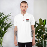 Singapore Dream Embroidered Polo Shirt by TEE Empire