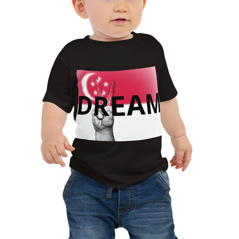 Singapore Dream Baby Jersey Short Sleeve Tee by TEE Empire