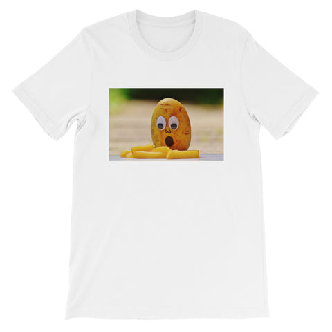 Potato-French Fries Short-Sleeve Unisex T-Shirt