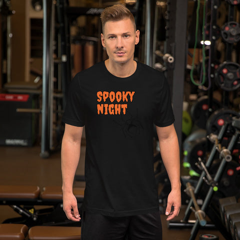 Spooky Night Short-Sleeve Unisex T-Shirt by TEE Empire