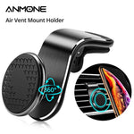 ANMONE Magnetic Car Phone Holder For Iphone11 Universal Air Outlet Metal Magnetic Navigation Car Bracket 360 Degree Rotation