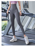 2020 Yoga Pants Stretchy Sport Best Black Leggings High Waist Compression Tights  Push Up Running Women Gym Fitness Leggings